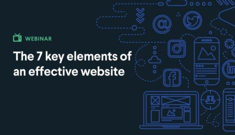 7 elements of effective website