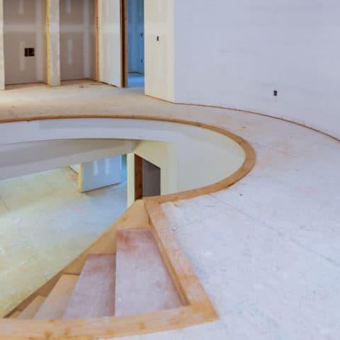 construction d'escalier