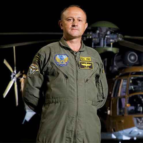 Air to Air Rescue Gen. Zlatko Zlatkov