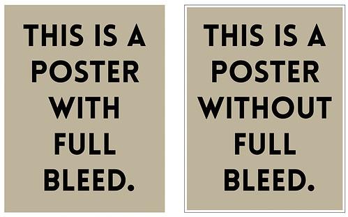 Full Bleed double poster