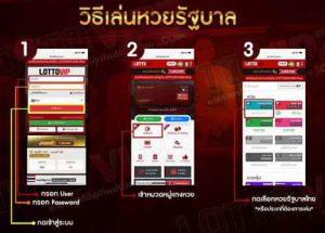 วิธีเล่นหวยรัฐบาลไทย-lottovip1