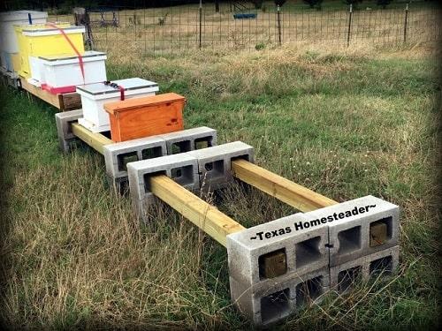 Beehive stand plan 9