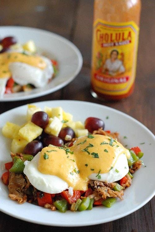 Huevos Rancheros Eggs Benedict