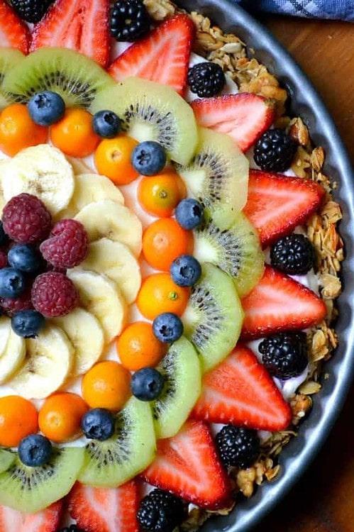 Clean Eating Breakfast Fruit Tart