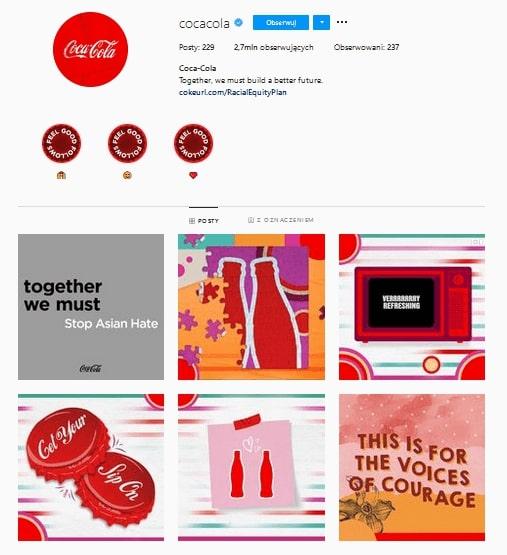 Coca Cola Instagram | Instagram Best Practice