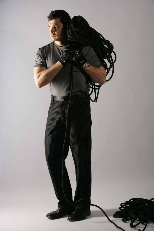 Работник с въжета