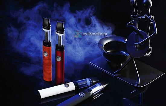 Фото - Электронные сигареты в дыму