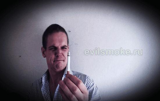 Фото - Парню не нравиться вкус сигарет