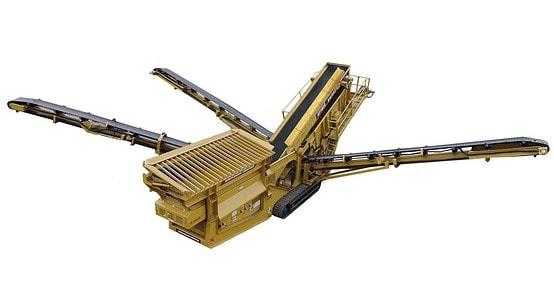 Spyder 514TS3 Topsoil Screening Plant
