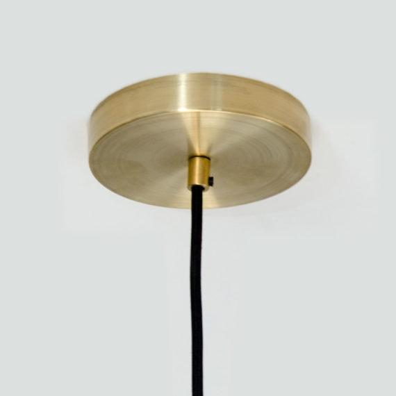 brass ceiling canopy for pendant light