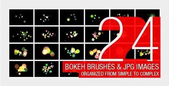 photoshop brushes, photoshop brushes free, Bokeh Brushes Photoshop, 2