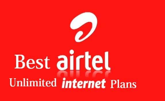 Airtel unlimited data plan 2017