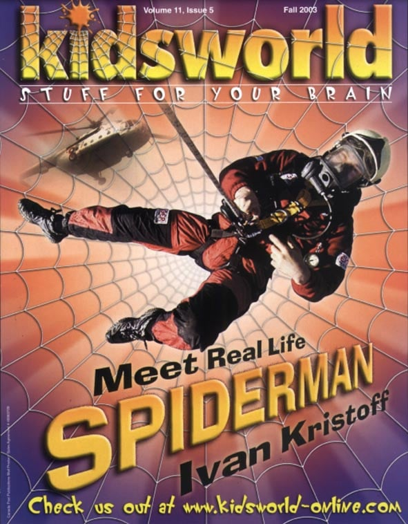 THE CANADIAN SPIDERMAN