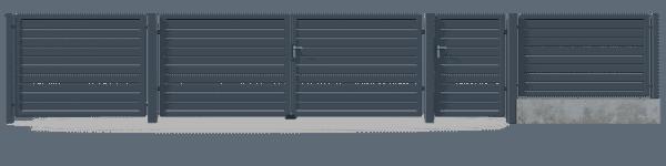 Brama dwuskrzydłowa GNH8020 1