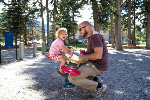 Fun in Banff