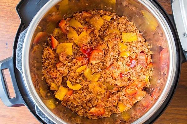 Cajun Chicken and Rice Instant Pot