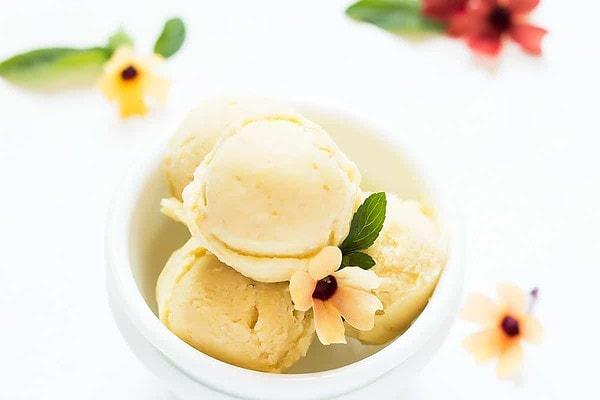 Pineapple Nice Cream in bowl