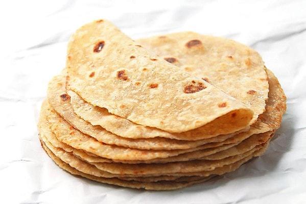 Homemade whole wheat tortillas