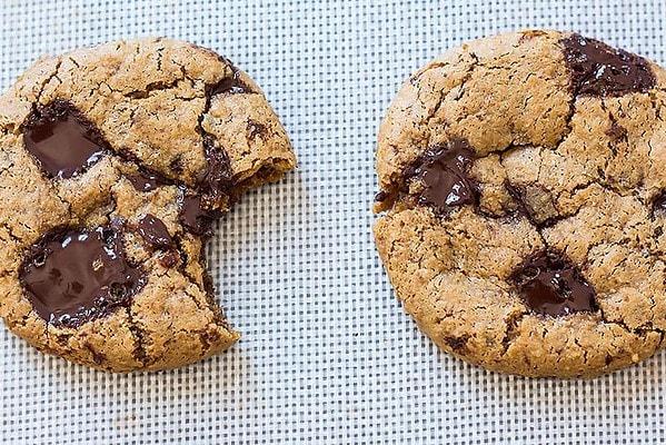 Two Coconut Flour Cookies