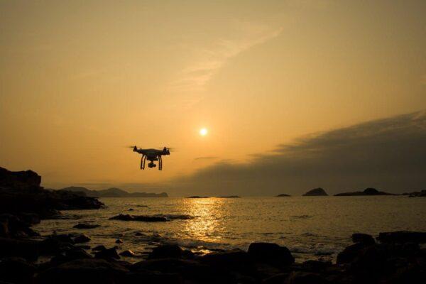 fotografare con un drone