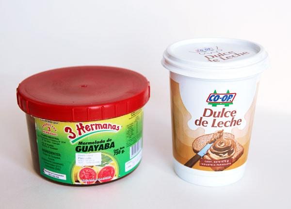 Guava Jam and Dulce de Leche