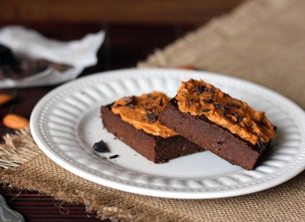Brownies with Pumpkin