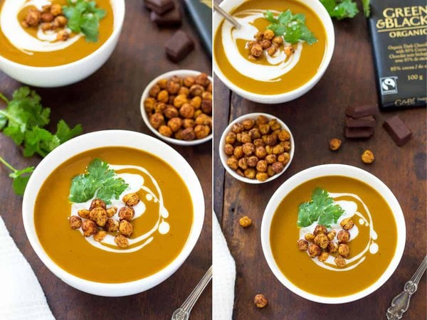 Chocolate Butternut Soup