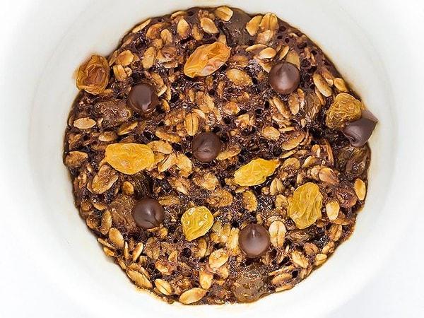 Microwave Oatmeal Cookie
