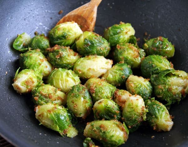 Brussels Sprouts with Breadcrumbs