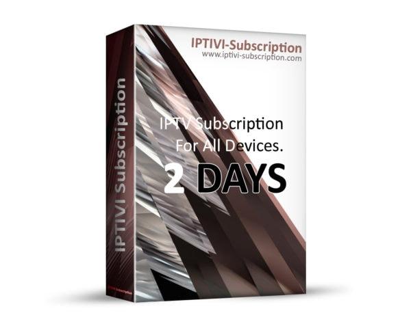 IPTV Subscription - IPTIVI Subscription - 48 Hours - IPTV PACK