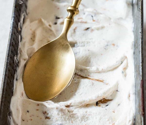 Peanut Butter Ice Cream in Tin