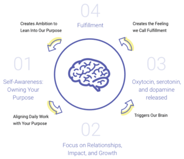 infographic about self awareness and fulfillment