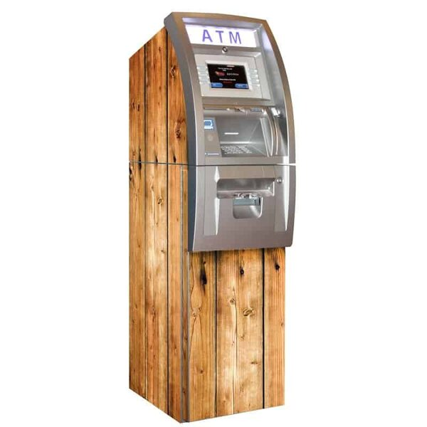 Woody ATM Wrap Distressed Brown