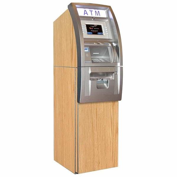 Woody ATM Wrap Red Oak