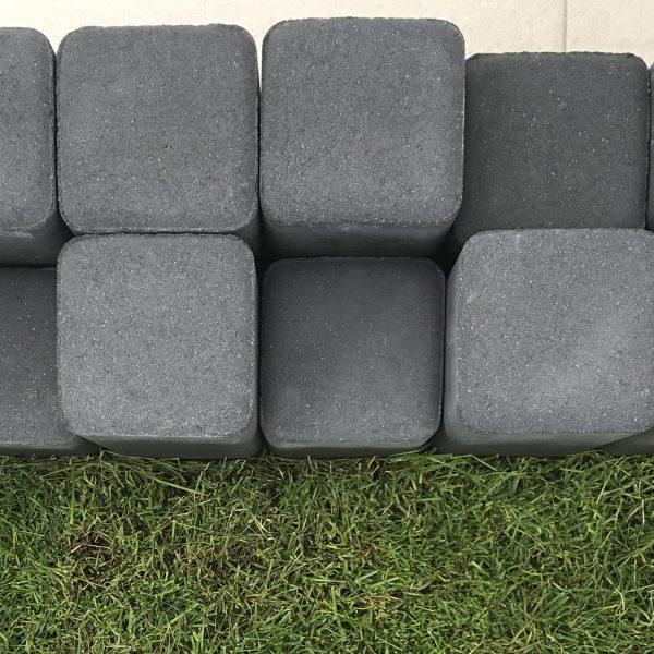 Palisada kwadratowa 40x11,8x11,8 1