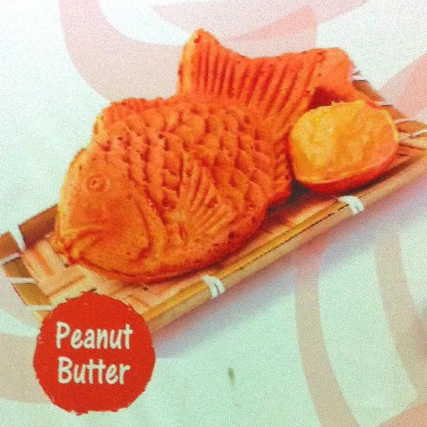 Peanut Butter Japanese Waffle