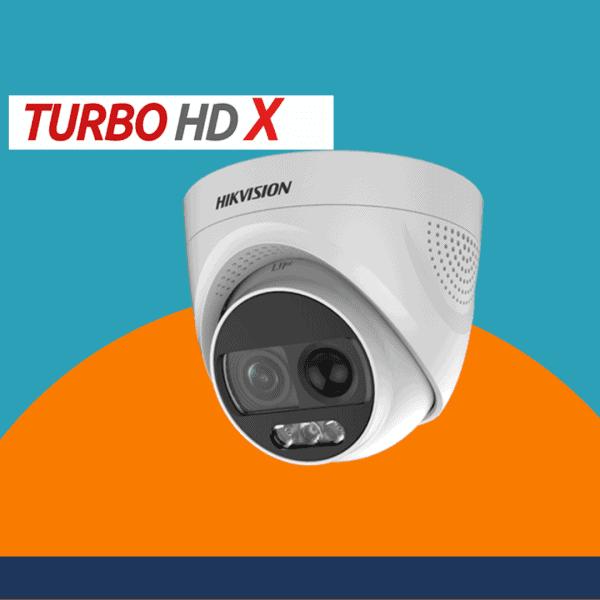 AcuSense cameras with strobe light/alarm