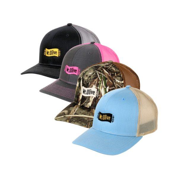 4 Mt. Olive Iconic Richardson 112 Snap Back Hats