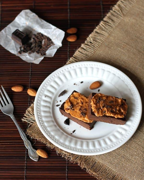 Fudgy Pumpkin Brownies