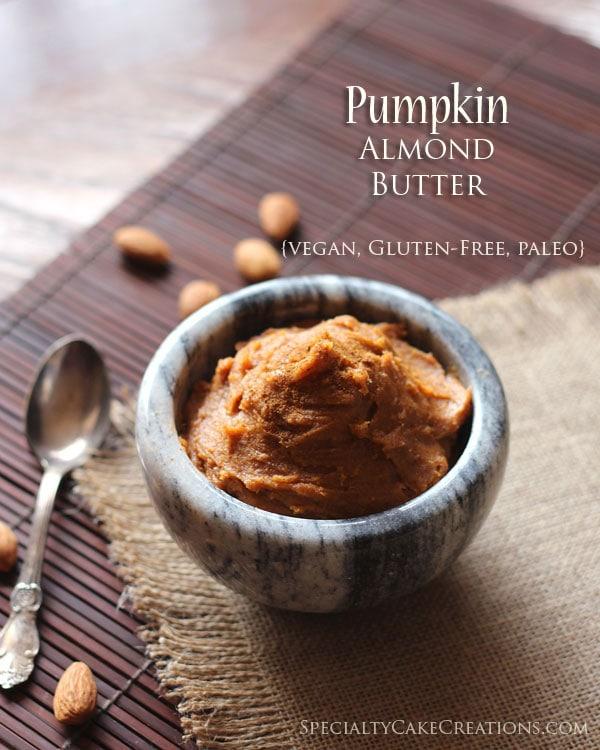 Bowl of Pumpkin Almond Butter