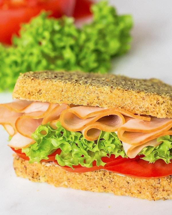 Coconut Flour Bread Sandwich