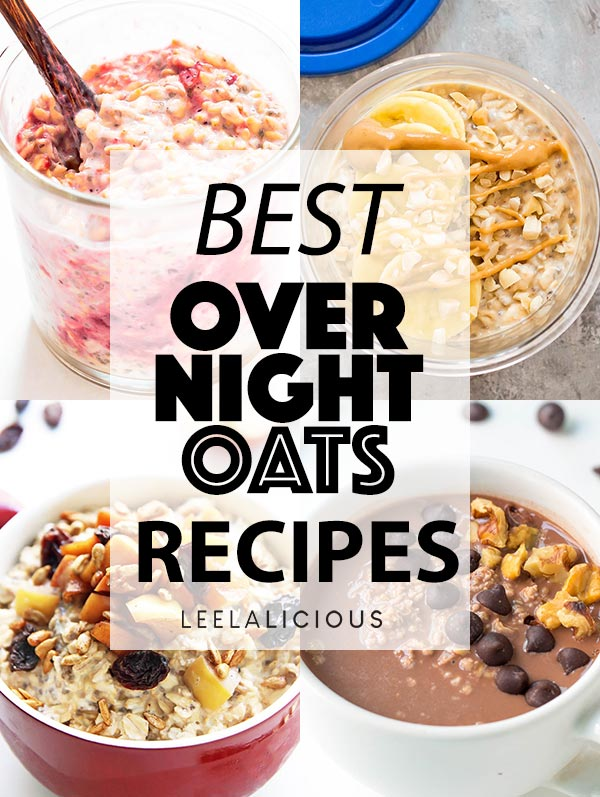 Best Overnight Oats Recipe Collage