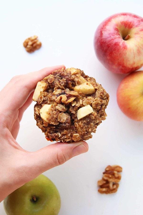 Oatmeal Breakfast Apple Cookies