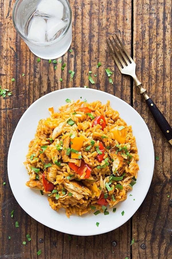 Pressure Cooker Cajun Chicken and Rice