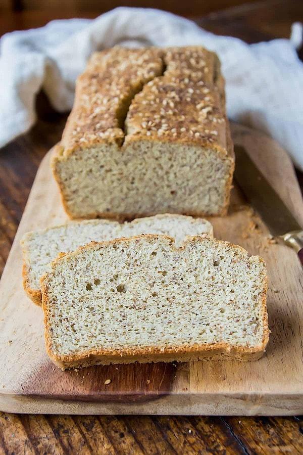 Coconut Flour Bread Slices