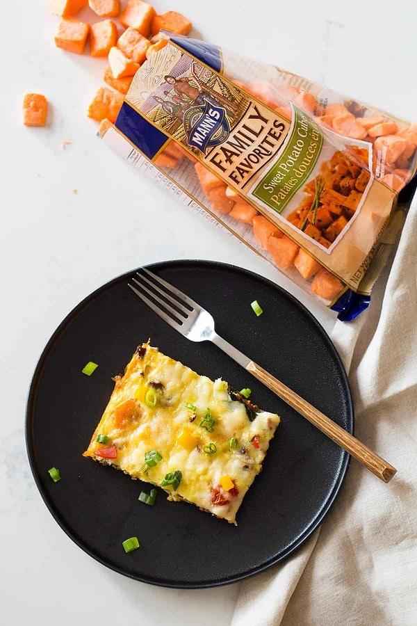 Egg Casserole with Sweet Potato