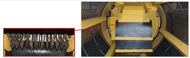 Patented Hammermill Shredder