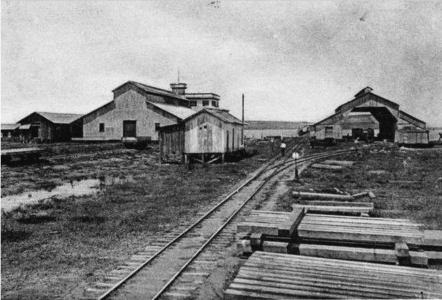 Estación de Puerto Barrios 1905