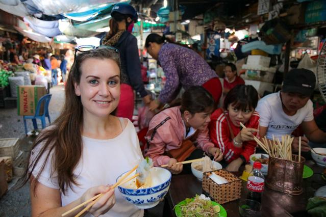 Melanie May Travel Journalist in Hue, Vietnam.
