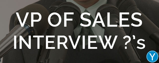VP of Sales Interview Questions